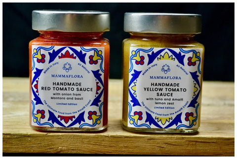 Mammaflora Sauces From The Amalfi Coast