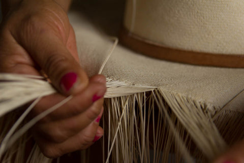How Borges & Scott Panama Hats are made