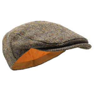 Borges & Scott Ladies Nevis Harris Tweed Flat Cap
