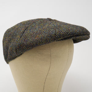 The Dingwall - 8 Piece Harris Tweed Cap