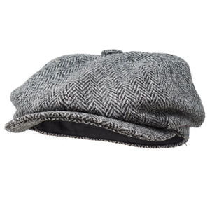 Borges & Scott Ladies Newsboy Harris Tweed Flat Cap