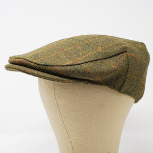 The Woodsman - Waterproof Yorkshire Tweed Flat Cap