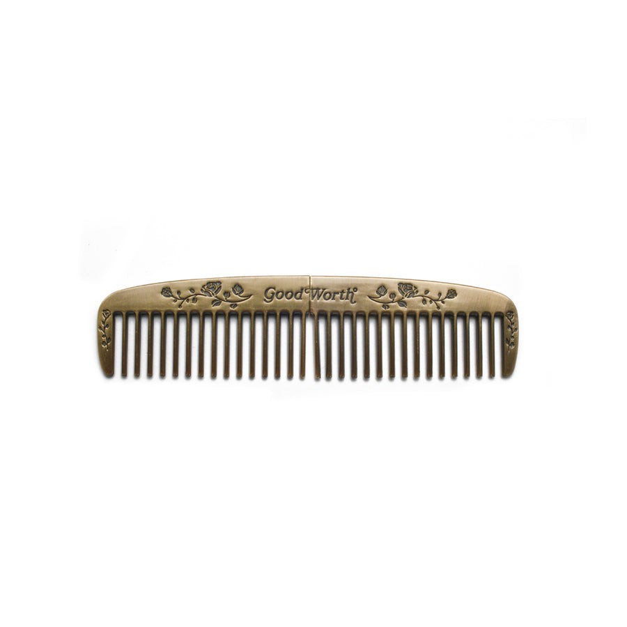 Gentleman's Comb - antique brass