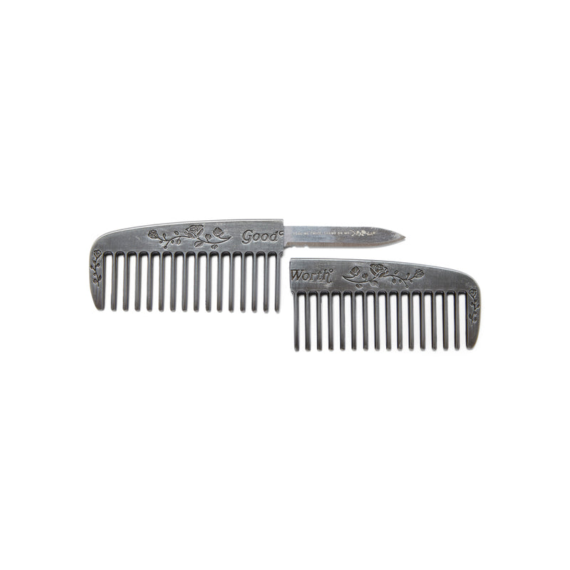 Gentlemen's Comb - antique nickel