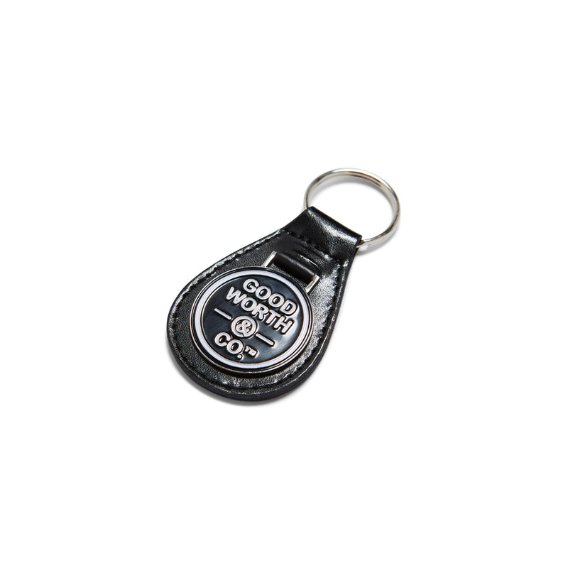 Good Worth Logo Keychain