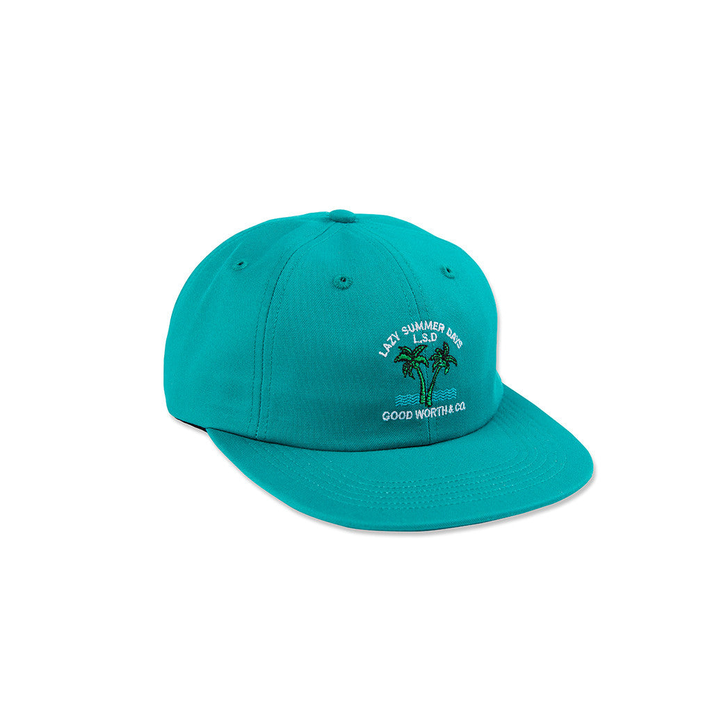 Lazy Days Strapback - Teal
