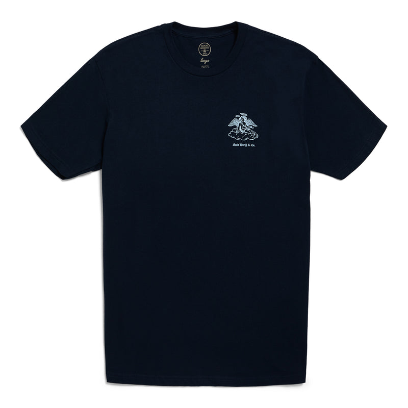 Angel Tee - Navy