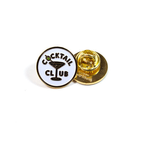 Cocktail Club Pin