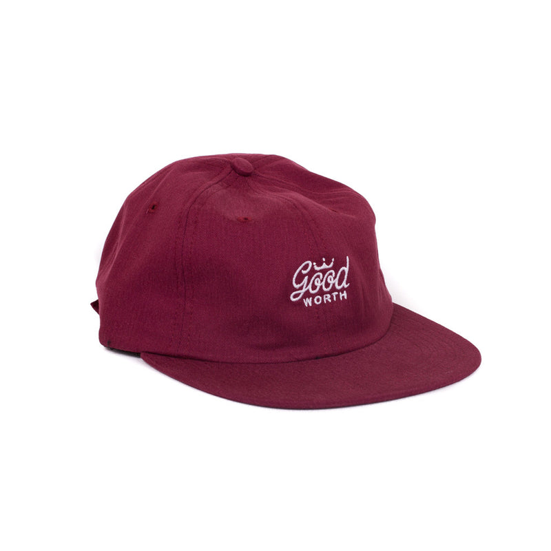 Crown Snapback - Burgundy