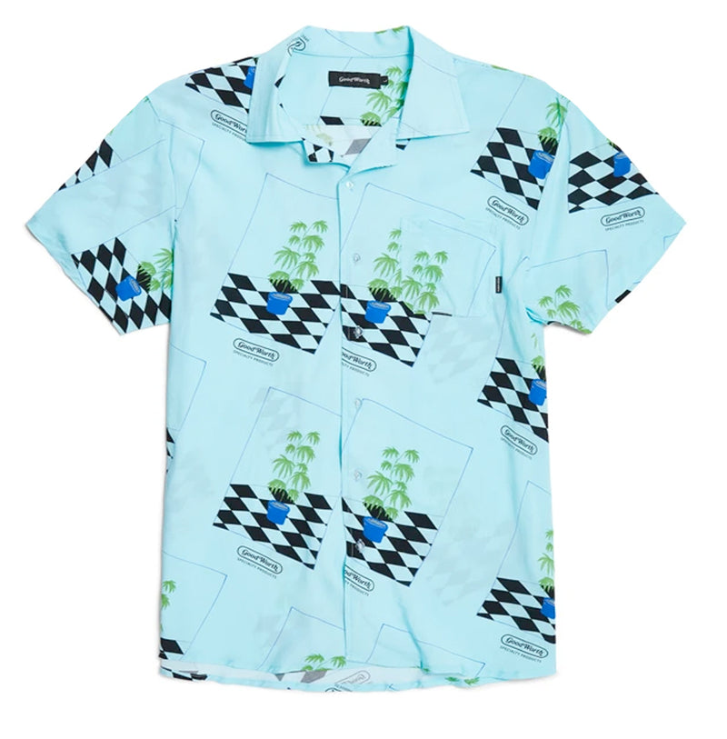 Life Plant Button-up