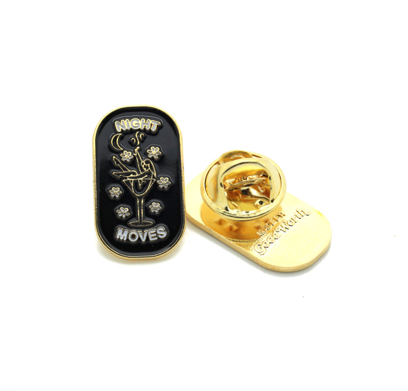 Night Moves Pin