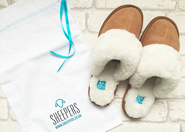 sheepskin slippers by sheepers