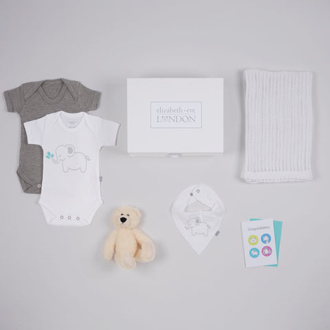 Baby gift box for christenings and baby showers