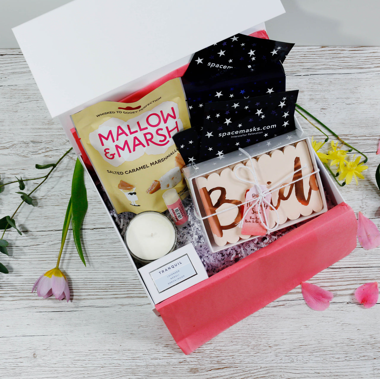 the bride box gift hamper for weddings and hen party