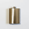 silver mens hip flask