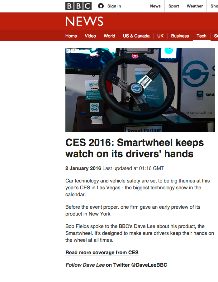 SMARTwheel on BBC