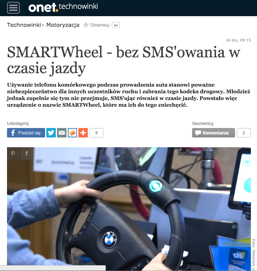 SMARTwheel in Technowinki