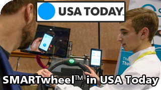 SMARTwheel on USA Today