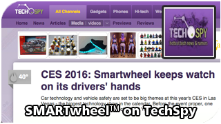 SMARTwheel on TechSpy