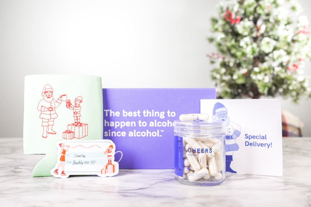 Cheers Restore (12 Dose) Holiday Bundle - Delivered by Customer