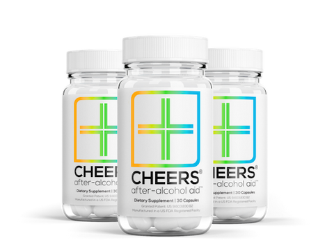 3 x After-Alcohol Aid™ (30 doses / 90 capsules)