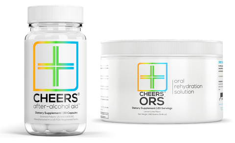 After-Alcohol Aid™ (10 doses) & ORS™ (makes 20 water bottles)