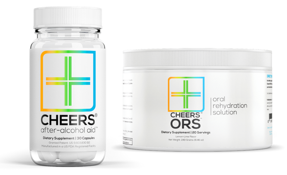 Cheers® After-Alcohol Aid™ & ORS™ Trial Offer