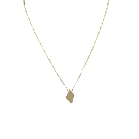 EMMY TRINH JEWELRY - LOVISA DIAMOND NECKLACE - BRONZE