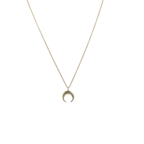 EMMY TRINH JEWELRY - MOON IN TAURUS CHOKER - BRONZE