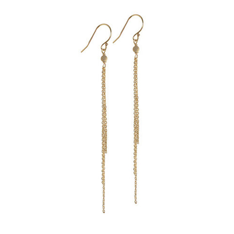 SOL COMET FRINGE EARRINGS