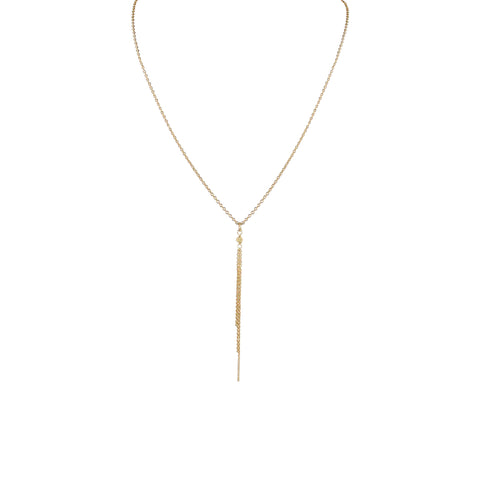SOL COMET FRINGE NECKLACE