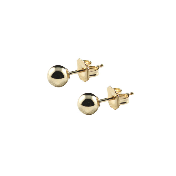 SOL GOLD STUDS - SMALL