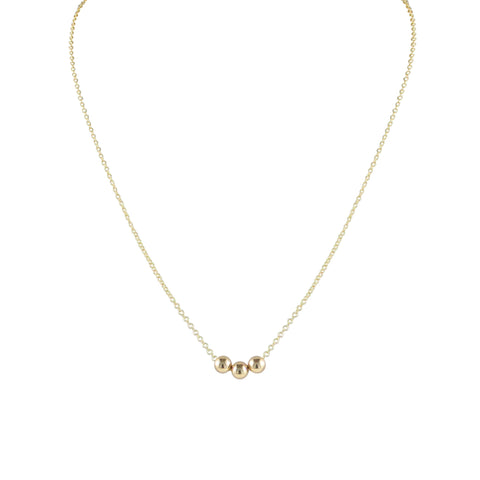 Sol Round Trio Necklace