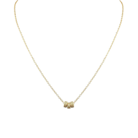 SOL TRIO RONDELLE ILLUME NECKLACE