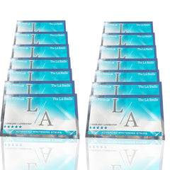 LA WHITENING STRIPS X14 PACK