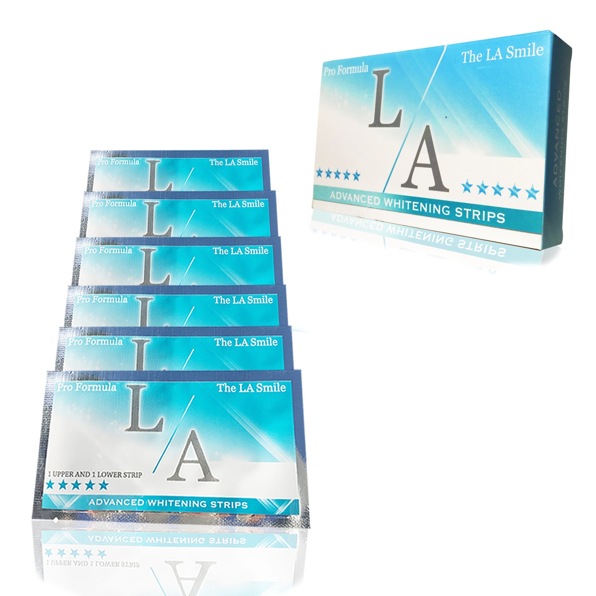 LA WHITENING STRIPS X7 PACK