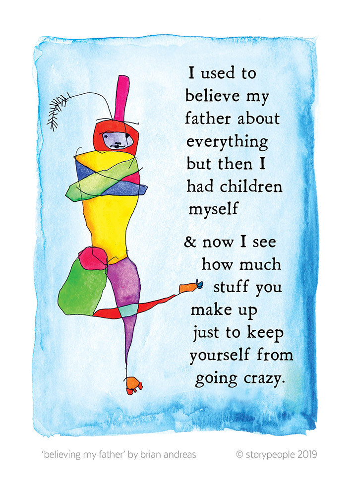 Believing My Father Greeting Card Pack