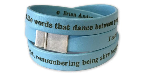 Living Memory Wristwrap - turquoise