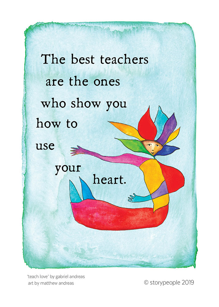Teach Love Greeting Card Pack