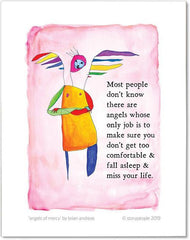 Angels of Mercy Color Wash Print from StoryPeople