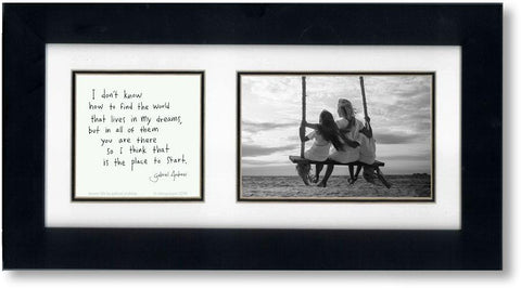 Dream Life 4x6 Double Picture Frame