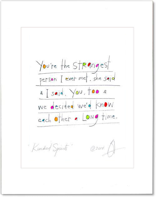 Kindred Spirits Prints (contemporary)