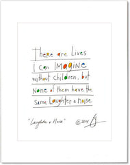 Laughter & Noise Prints (contemporary)