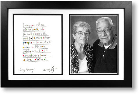 Living Memory 8x10 Double Picture Frame