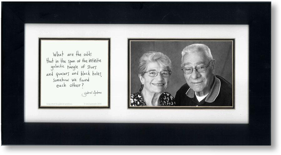 Long Shot 4x6 Double Picture Frame