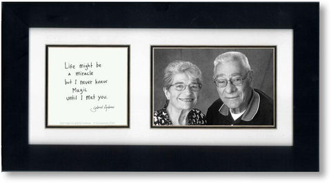 Real Magic 4x6 Double Picture Frame