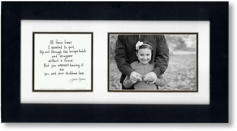 Stubborn Love 4x6 Double Picture Frame