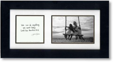 Summer Time 4x6 Double Picture Frame