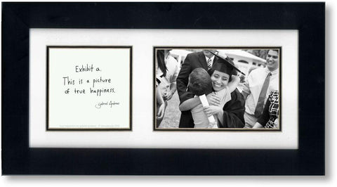 True Happiness 4x6 Double Picture Frame