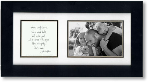 We Missed You 4x6 Double Picture Frame
